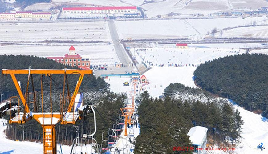 白清寨滑雪场