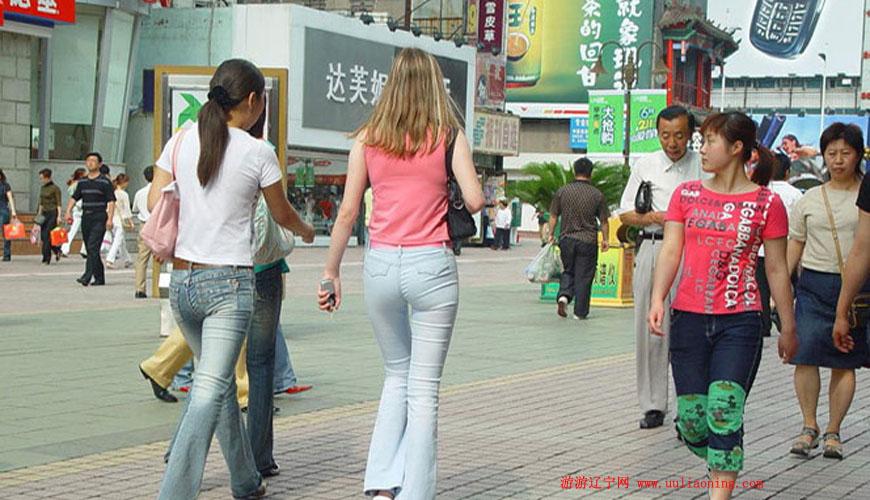 沈阳中街商业步行街