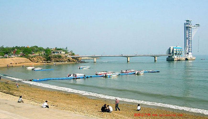 星海公园海滩浴场