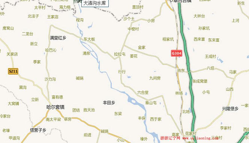 大清沟水库旅游景区
