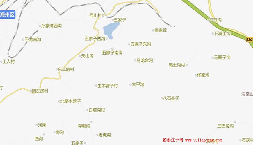 三塔沟景区