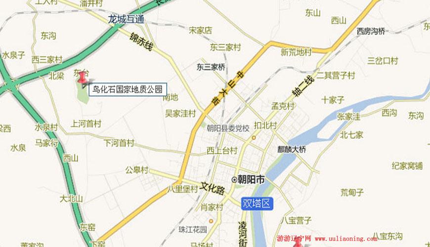 上河首古生物化石园区