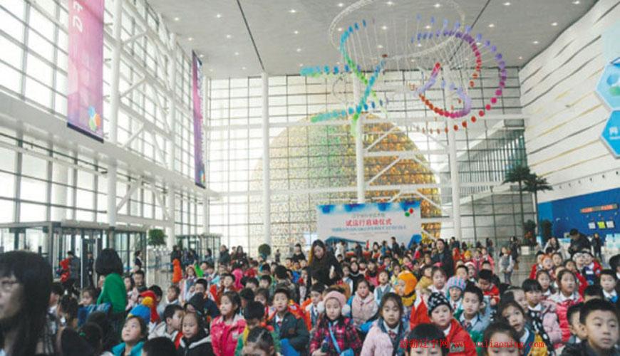 辽宁省科技馆新馆1月18日开始试运行