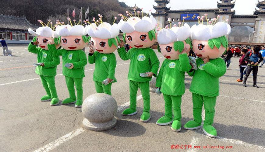 2015千山梨花节开幕
