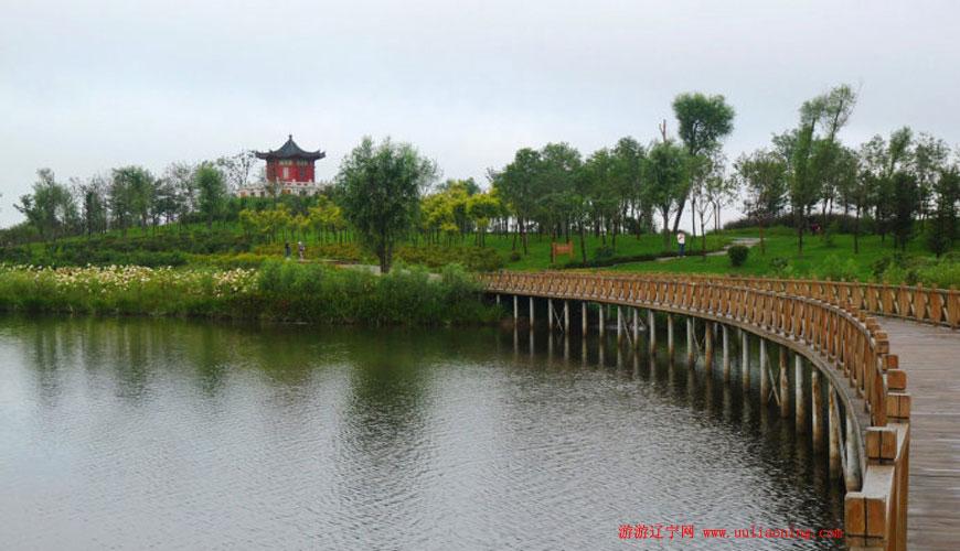 蒲河生态廊道(于洪段)