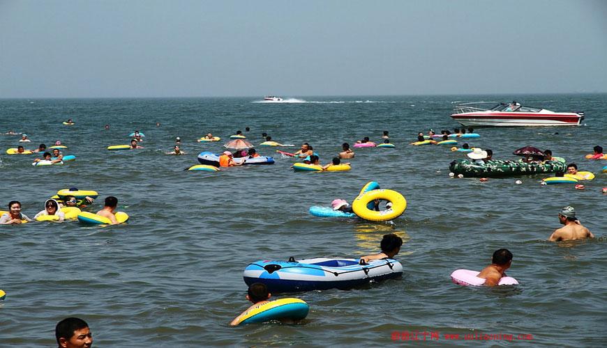 白沙湾黄金海岸浴场