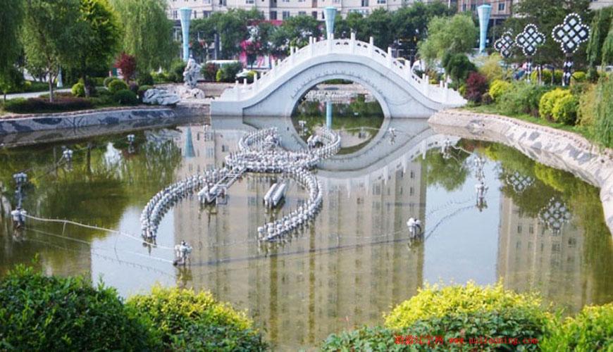 鲅鱼圈青龙山公园