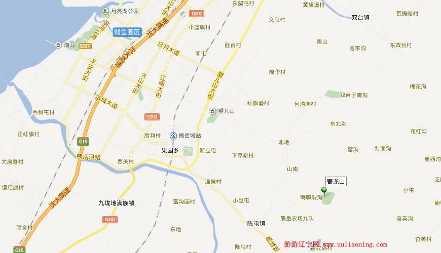 盖州青龙山国家森林公园_营口自然风景_游游辽宁网